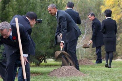 Barack Obama, Pena Nieto, Ed Fast