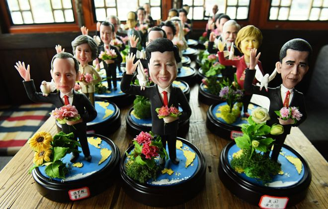 Figurines Of G20 Country Leaders Made To Welcome G20 Hangzhou Summit